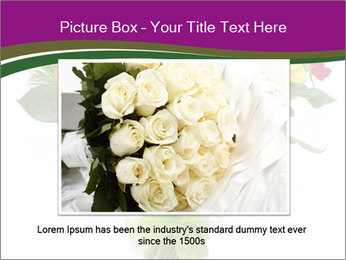 Bouquet flowers PowerPoint Templates - Slide 16