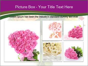 Bouquet flowers PowerPoint Templates - Slide 19