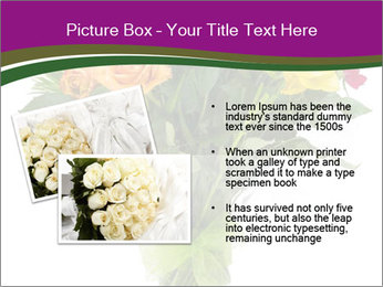 Bouquet flowers PowerPoint Templates - Slide 20