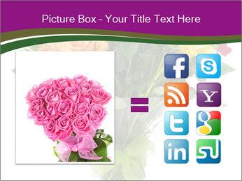 Bouquet flowers PowerPoint Templates - Slide 21