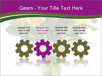 Bouquet flowers PowerPoint Templates - Slide 48