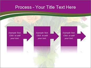 Bouquet flowers PowerPoint Templates - Slide 88
