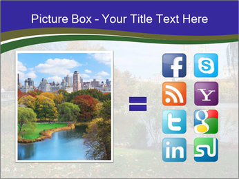 Central Park PowerPoint Template - Slide 21