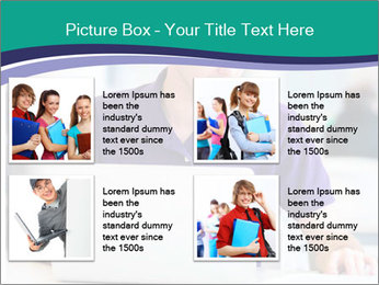 Handsome college student PowerPoint Templates - Slide 14
