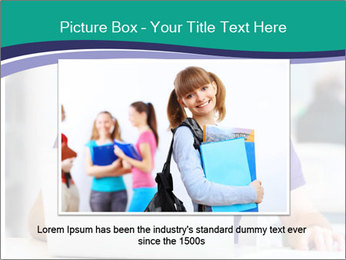 Handsome college student PowerPoint Templates - Slide 16