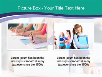 Handsome college student PowerPoint Templates - Slide 18