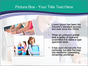 Handsome college student PowerPoint Templates - Slide 20