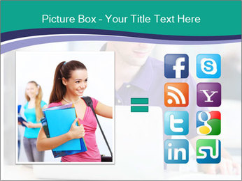 Handsome college student PowerPoint Templates - Slide 21