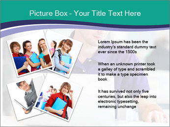 Handsome college student PowerPoint Templates - Slide 23