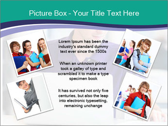 Handsome college student PowerPoint Templates - Slide 24