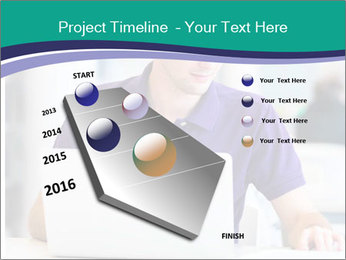 Handsome college student PowerPoint Templates - Slide 26