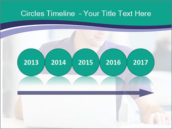 Handsome college student PowerPoint Templates - Slide 29