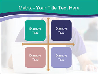 Handsome college student PowerPoint Templates - Slide 37