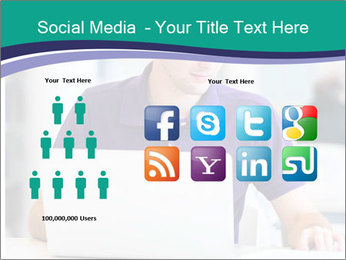 Handsome college student PowerPoint Templates - Slide 5