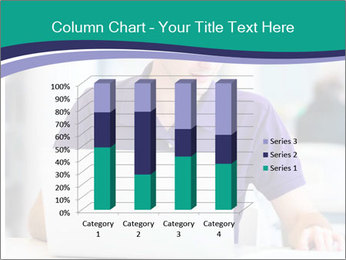 Handsome college student PowerPoint Templates - Slide 50