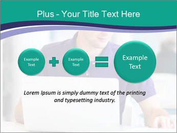 Handsome college student PowerPoint Templates - Slide 75