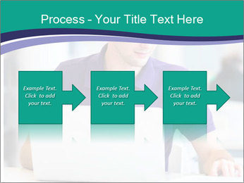 Handsome college student PowerPoint Templates - Slide 88