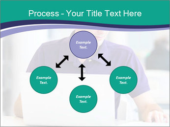 Handsome college student PowerPoint Templates - Slide 91