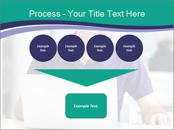 Handsome college student PowerPoint Templates - Slide 93