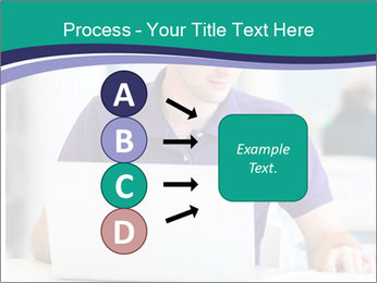 Handsome college student PowerPoint Templates - Slide 94