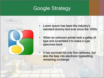 Loft interior PowerPoint Template - Slide 10