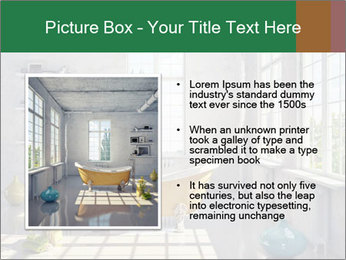 Loft interior PowerPoint Template - Slide 13