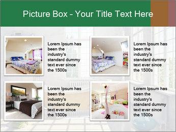 Loft interior PowerPoint Template - Slide 14