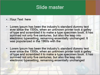 Loft interior PowerPoint Template - Slide 2