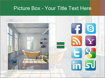 Loft interior PowerPoint Template - Slide 21
