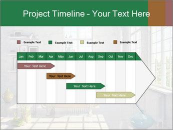 Loft interior PowerPoint Template - Slide 25