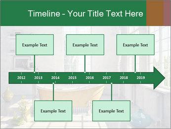 Loft interior PowerPoint Template - Slide 28