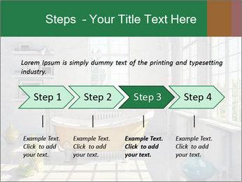 Loft interior PowerPoint Template - Slide 4