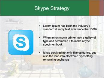 Loft interior PowerPoint Template - Slide 8
