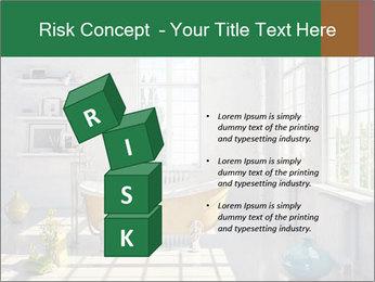 Loft interior PowerPoint Template - Slide 81