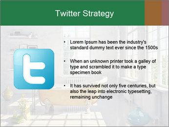 Loft interior PowerPoint Template - Slide 9