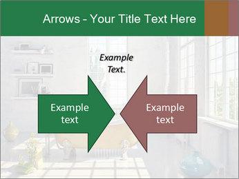 Loft interior PowerPoint Template - Slide 90