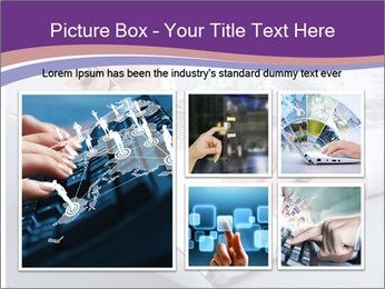 Computer keyboard PowerPoint Templates - Slide 19