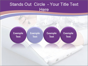 Computer keyboard PowerPoint Templates - Slide 76
