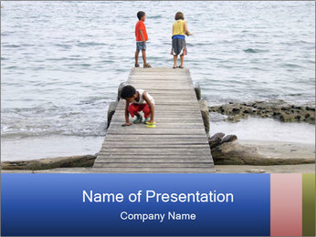 Costa Rica PowerPoint Template - Slide 1