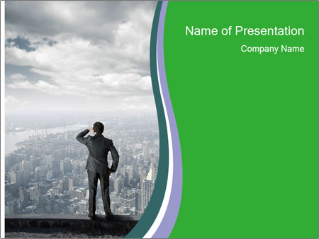 Looking to the future PowerPoint Templates