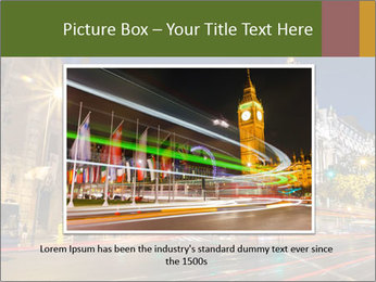 Rays of traffic lights PowerPoint Template - Slide 15