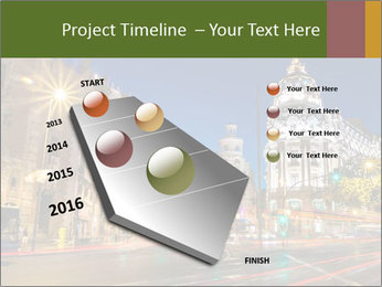 Rays of traffic lights PowerPoint Template - Slide 26
