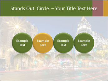Rays of traffic lights PowerPoint Template - Slide 76