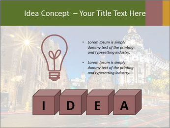 Rays of traffic lights PowerPoint Template - Slide 80