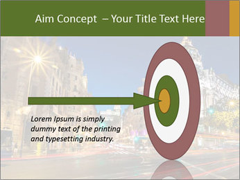 Rays of traffic lights PowerPoint Template - Slide 83