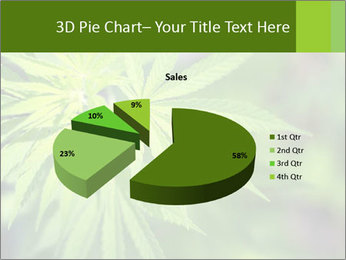 Young cannabis PowerPoint Template - Slide 35