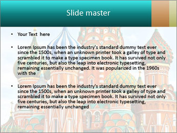 Red Square in Moscow PowerPoint Template - Slide 2