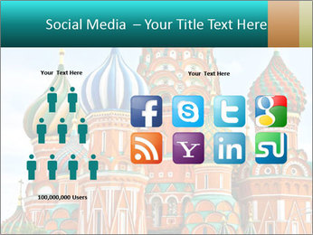 Red Square in Moscow PowerPoint Template - Slide 5