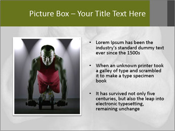 Muscled male PowerPoint Templates - Slide 13