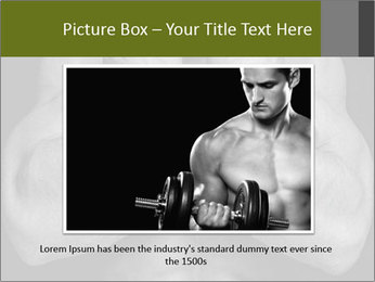 Muscled male PowerPoint Templates - Slide 15